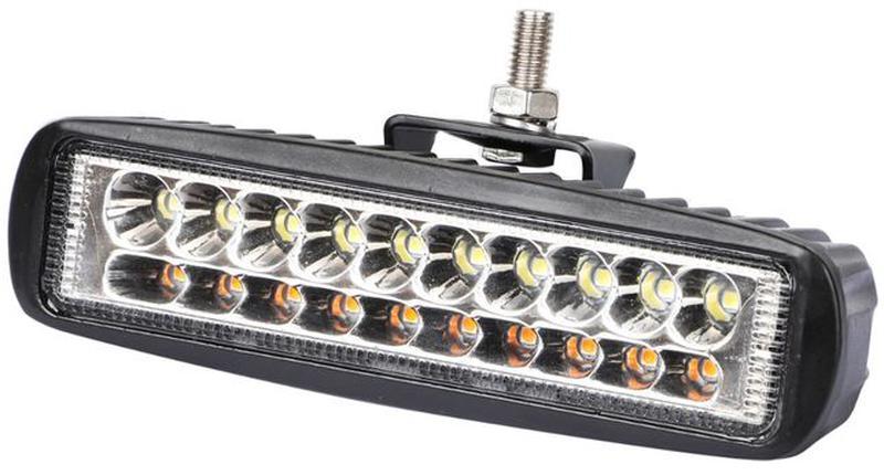 Протитуманні фари дхо жовтий/білий 30Вт противотуманки LED, 1 шт - Фото 3