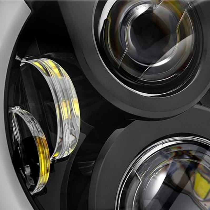 Фары LED MSX2 ВАЗ 2101 Нива Волга ГАЗ 24 УАЗ Hummer FJ лампы - Фото 7