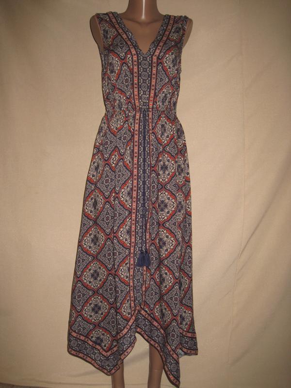 Вискозное платье peacocks р-р8