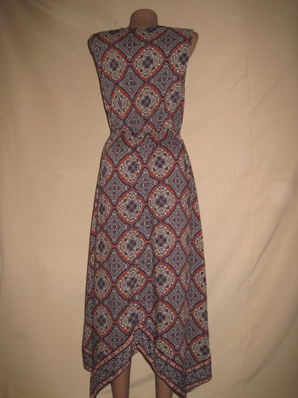 Вискозное платье peacocks р-р8 - Фото 2