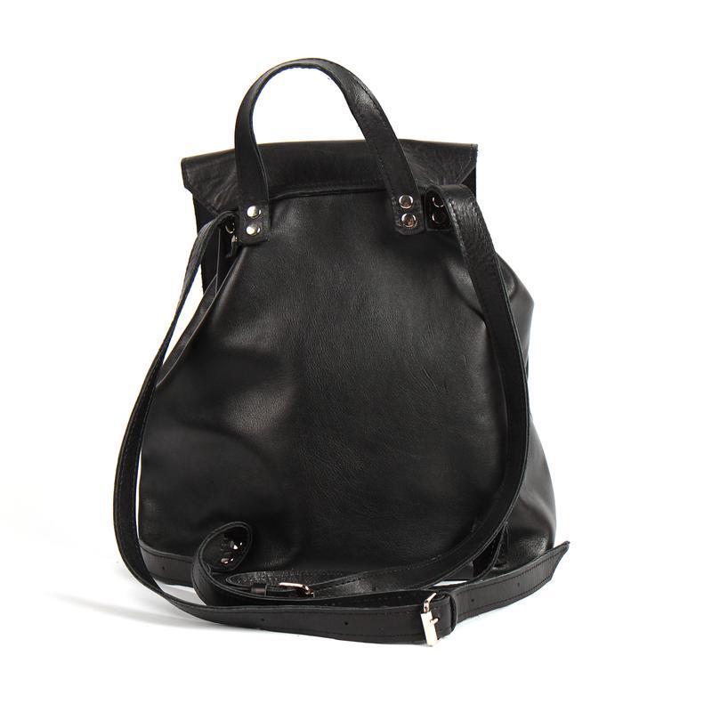 Стильный кожаный рюкзак - Фото 2