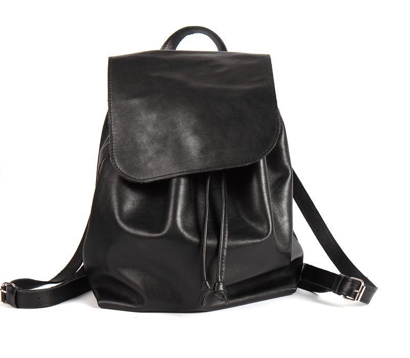 Стильный кожаный рюкзак - Фото 3