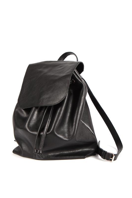 Стильный кожаный рюкзак - Фото 4
