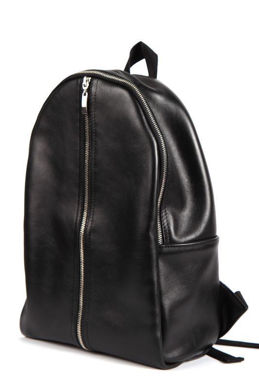 Стильный кожаный рюкзак (унисекс)