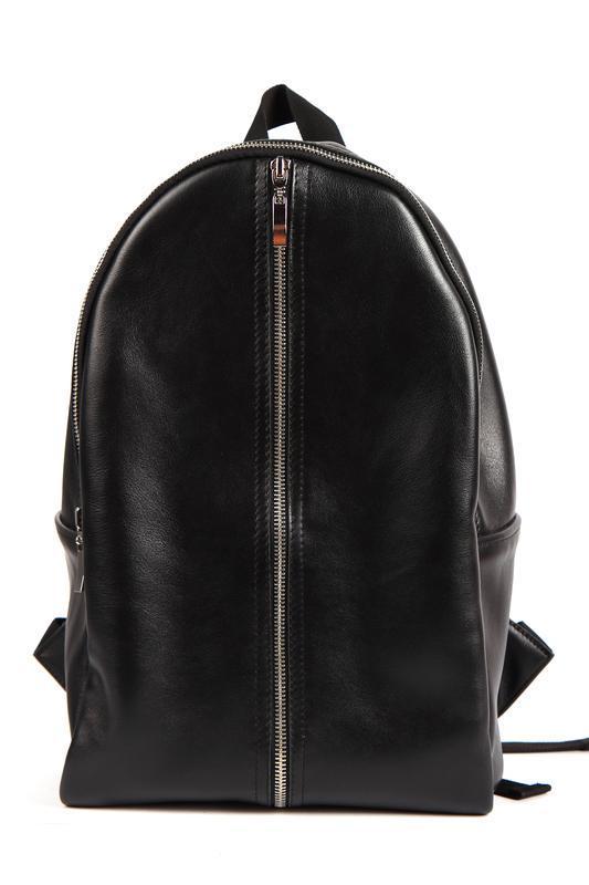 Стильный кожаный рюкзак (унисекс) - Фото 2
