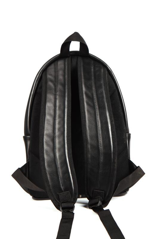 Стильный кожаный рюкзак (унисекс) - Фото 3