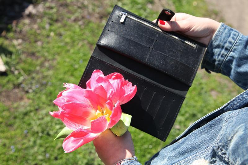 Стильный кожаный кошелек - Фото 2
