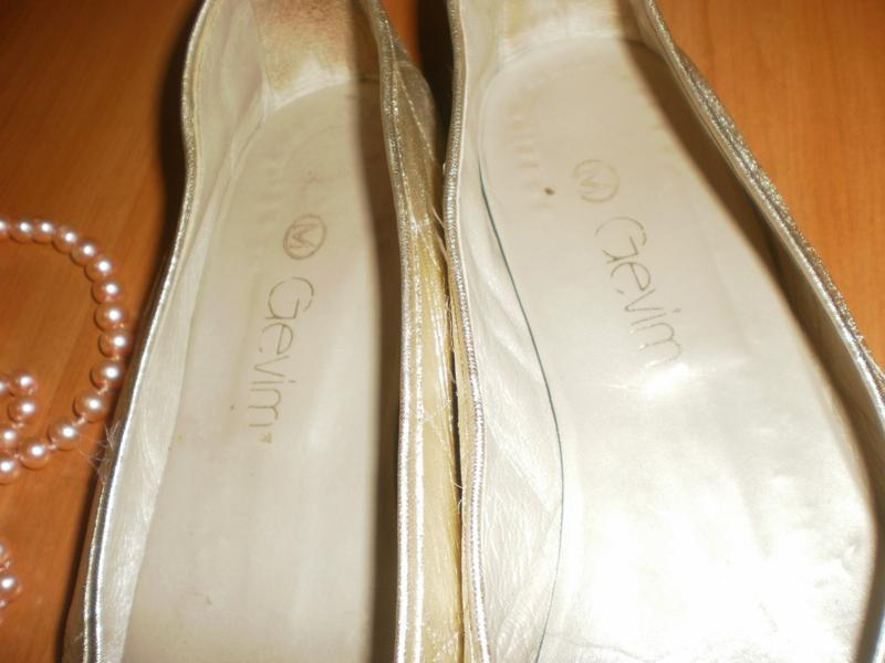 Шикарні стильні золотисті мокасінки від бренда gevim - Фото 4