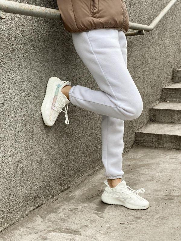 Стильные женские кроссовки adidas yeezy белый цвет /весна/лето... - Фото 3