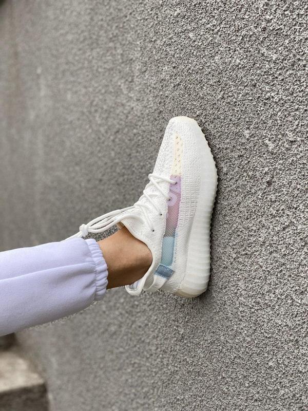 Стильные женские кроссовки adidas yeezy белый цвет /весна/лето... - Фото 6