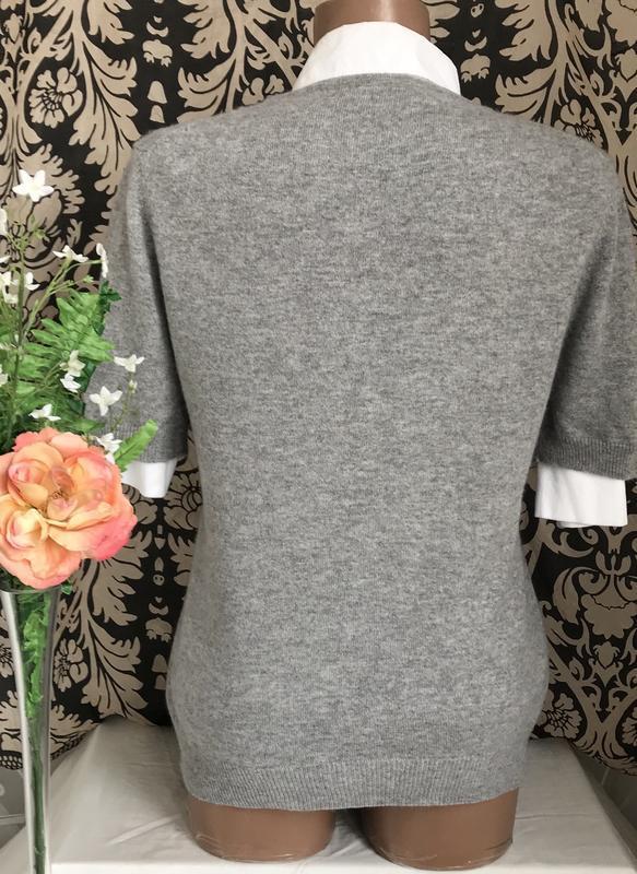 Кашемировый ♥️😎♥️ джемпер свитер cashmere, шотландия. - Фото 5