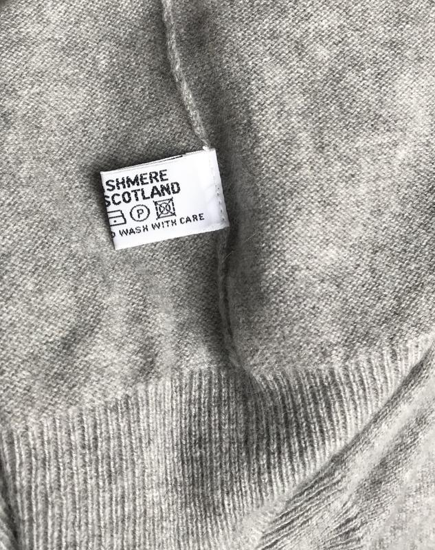 Кашемировый ♥️😎♥️ джемпер свитер cashmere, шотландия. - Фото 7
