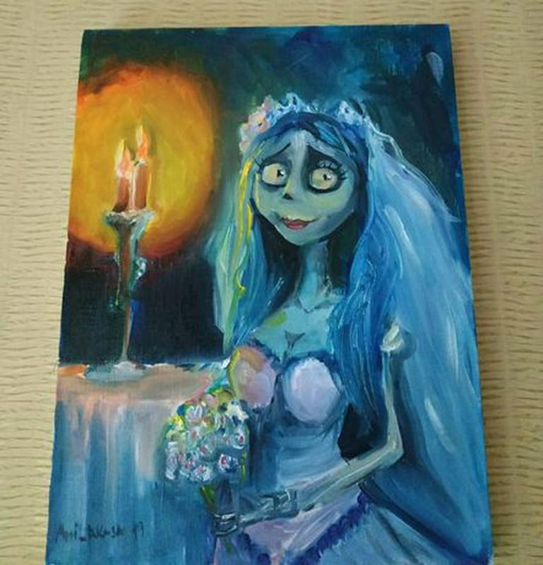 Картина маслом, Мертвая невеста