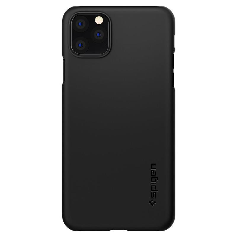 Чехол Spigen Thin Fit  для iPhone 11 Pro Max Black - Фото 2