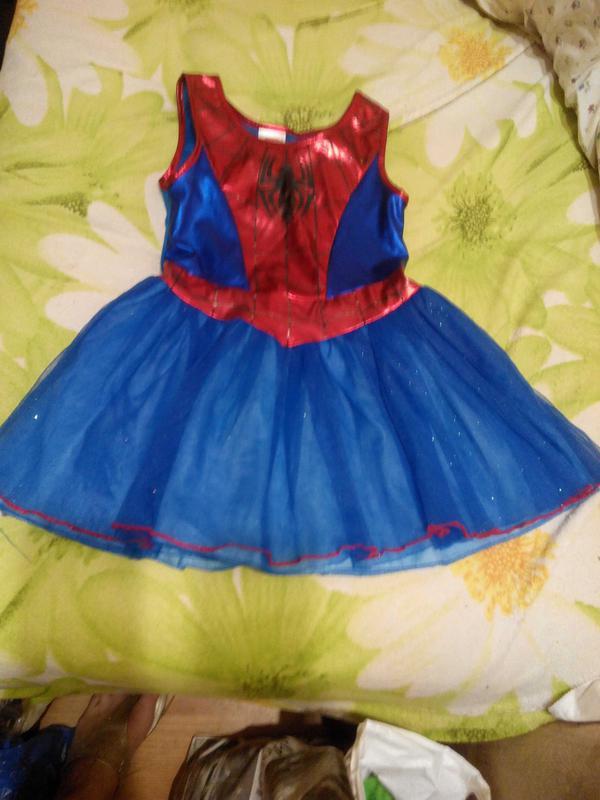 Карнавальный костюм Подруга Спайдермена девочке 5 лет - Фото 2