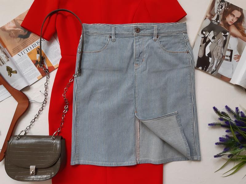 Крутая юбка с разрезом - Фото 2