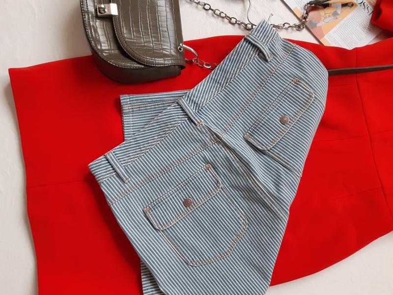 Крутая юбка с разрезом - Фото 3