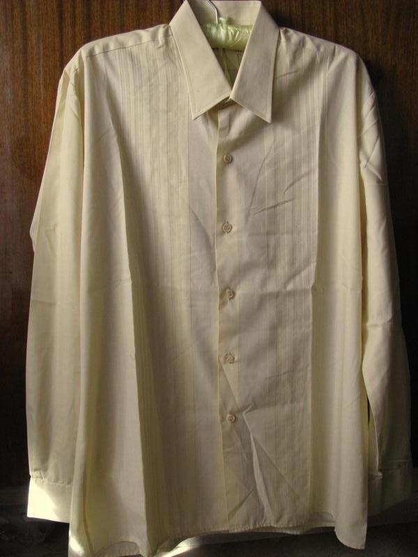 Mercury мужская рубашка бежевого цвета