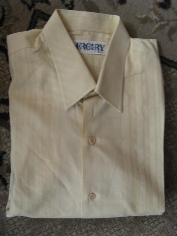 Mercury мужская рубашка бежевого цвета - Фото 2