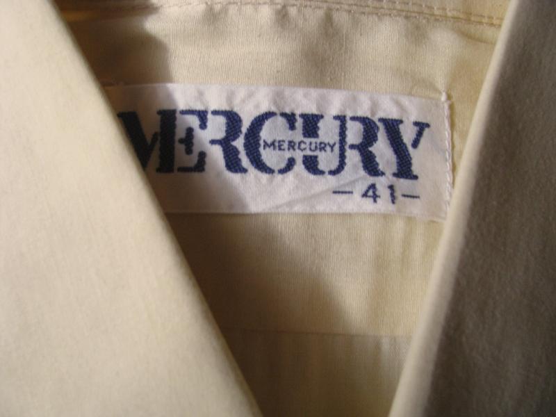 Mercury мужская рубашка бежевого цвета - Фото 3