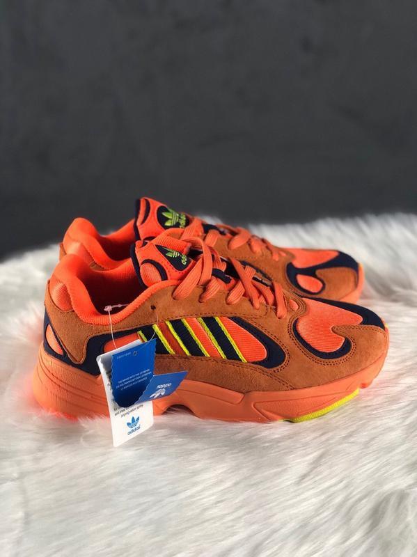 Adidas yung hi res orange шикарные женские кроссовки адидас ян...