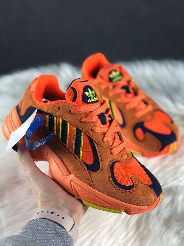 Adidas yung hi res orange шикарные женские кроссовки адидас ян... - Фото 3