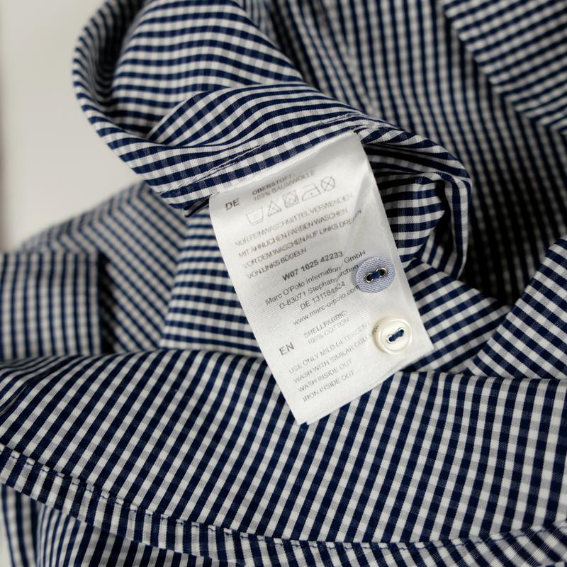 Рубашка с длинным рукавом mark o`polo р-р 34 (xs) - Фото 2