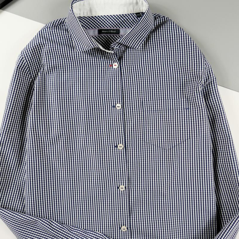 Рубашка с длинным рукавом mark o`polo р-р 34 (xs) - Фото 3