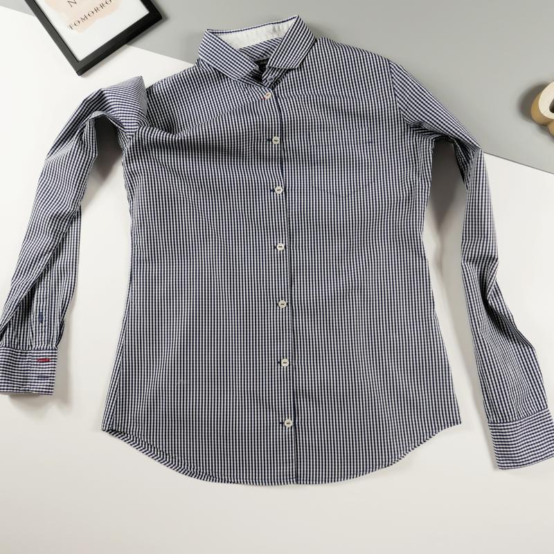Рубашка с длинным рукавом mark o`polo р-р 34 (xs) - Фото 5