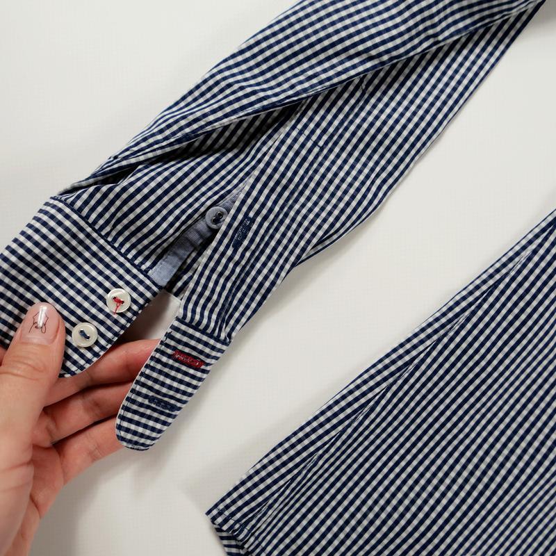 Рубашка с длинным рукавом mark o`polo р-р 34 (xs) - Фото 6