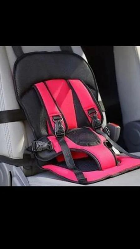 Детское автомобильное кресло безкаркасное