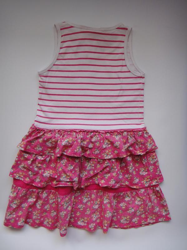 Летнее платье lee cooper  3-4 года - Фото 2