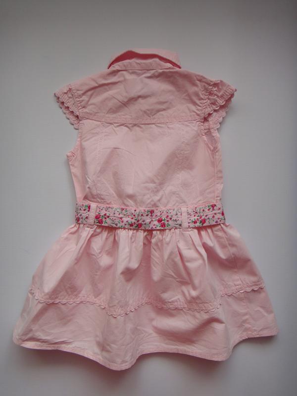 Розовое платье early days  9-12 мес, 74 см - Фото 2