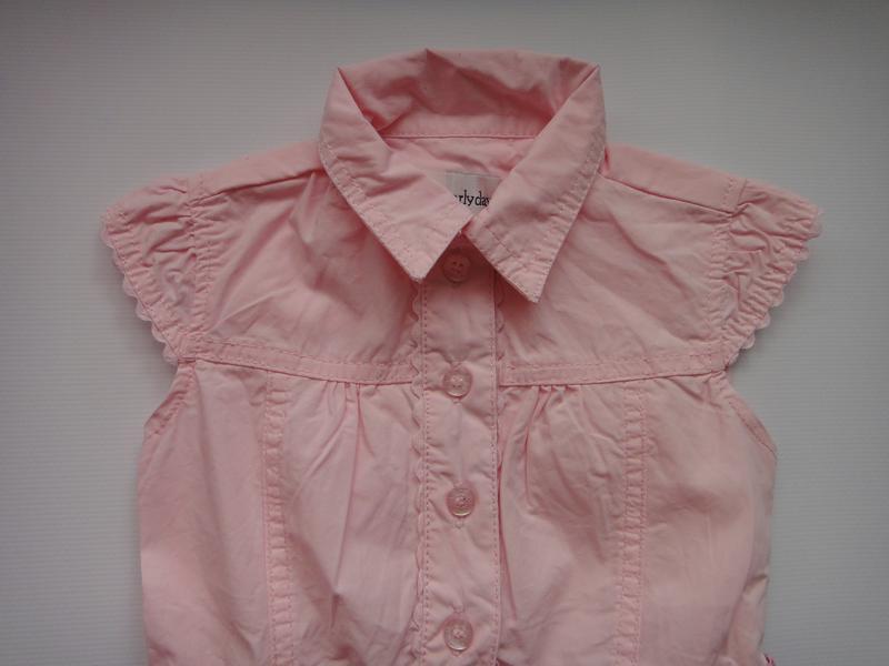 Розовое платье early days  9-12 мес, 74 см - Фото 4