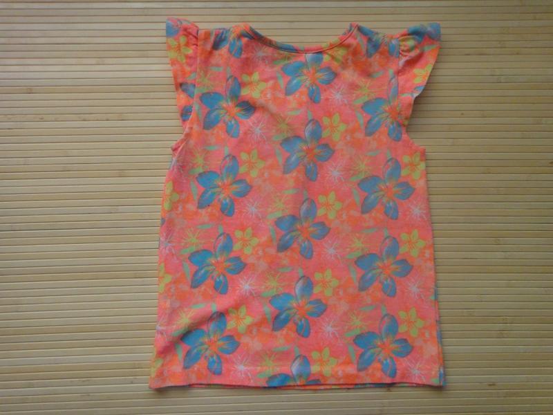 Яркая футболка young dimension в цветы 4-5 лет, 110 см - Фото 2