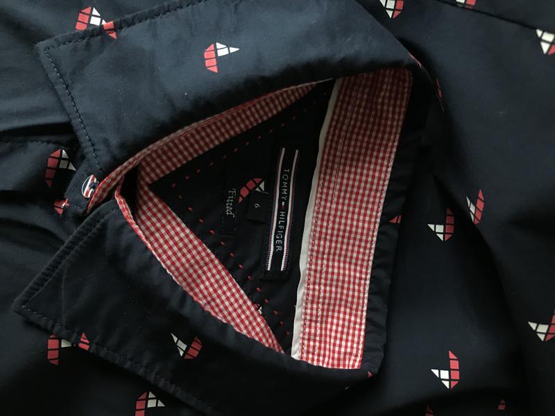 Женская рубашка tommy hilfiger - Фото 3