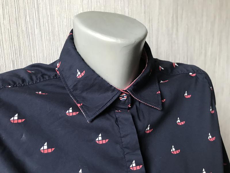 Женская рубашка tommy hilfiger - Фото 4