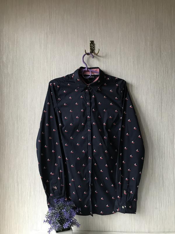 Женская рубашка tommy hilfiger - Фото 8