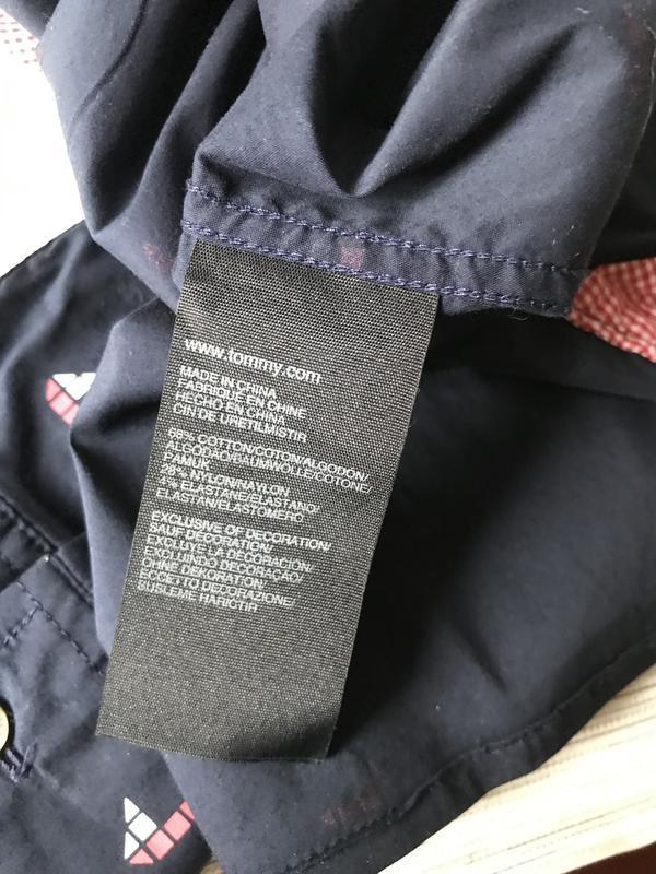 Женская рубашка tommy hilfiger - Фото 9