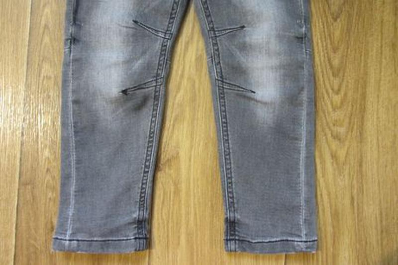 Стрейчевые модные джинсы штаны Next Некст для мальчика 2-3 год... - Фото 6