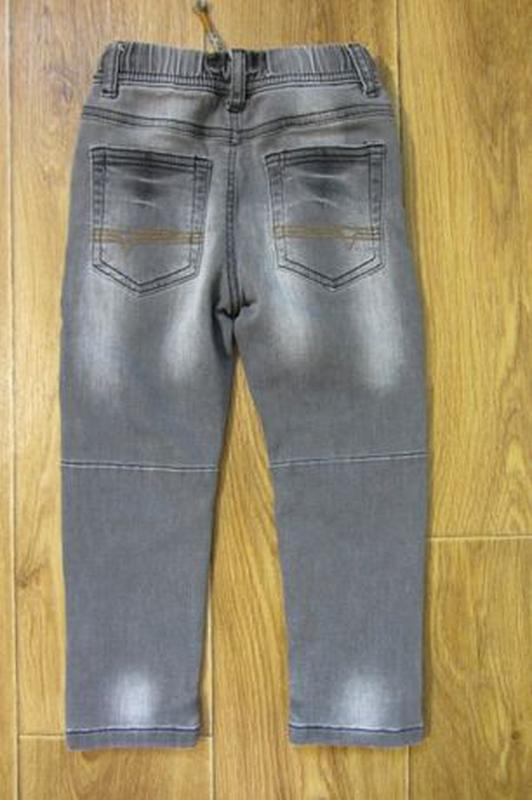 Стрейчевые модные джинсы штаны Next Некст для мальчика 2-3 год... - Фото 7