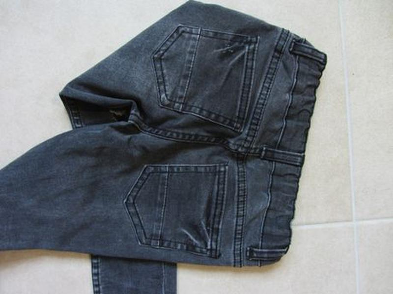 Набор 3-4 года 104: джинсовая рубашка с длинным рукавом джинсы... - Фото 7