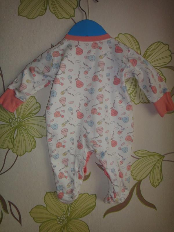 Человечек с воздушными шарами на новорожденного - Фото 3