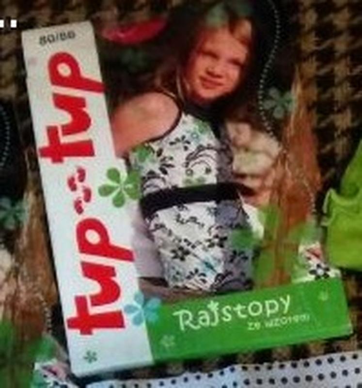 Детские капроновые колготки 74 р, бренд tup tup, польша