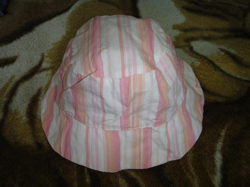 Розовая панамка stbernard  3-6 мес