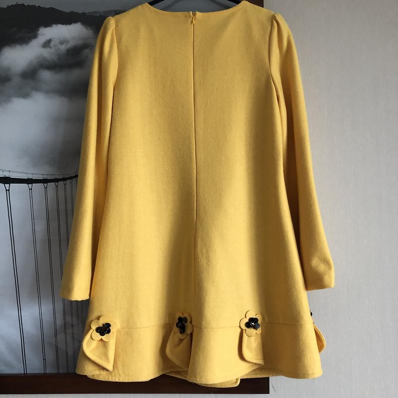 Платье miu miu оригинал желтое м - Фото 3