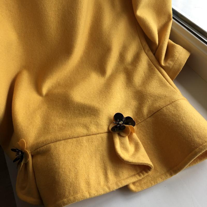 Платье miu miu оригинал желтое м - Фото 6