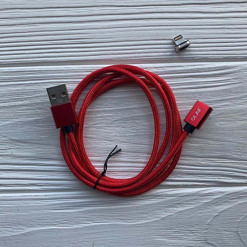 Магнитный USB кабель для Iphone - Фото 2