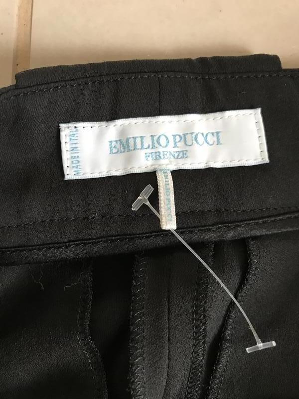 Штаны эксклюзив шелковые стильные оригинал emilio pucci размер m - Фото 6