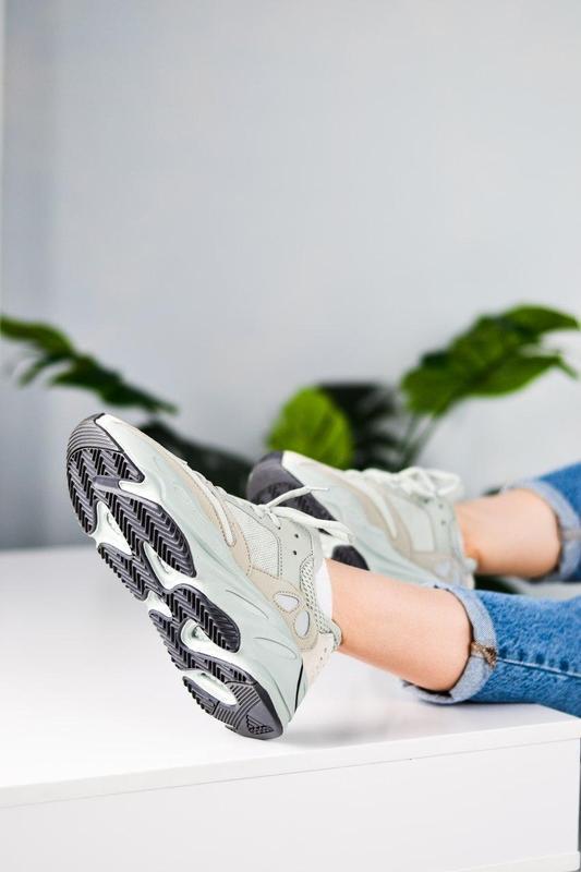 Adidas yeezy шикарные женские кроссовки замша/весна/лето/осень😍 - Фото 3